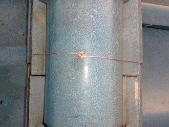 佐倉市 屋根 棟瓦取り直し 漆喰詰め直し 後々のことを考えたら銅線の処理は重要