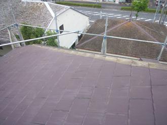 千葉県佐倉市 屋根カバー工法 室内塗装 棟板金の撤去