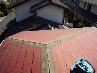 千葉県 千葉市中央区 棟板金交換 これまでの棟板金の撤去