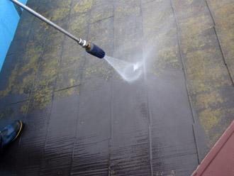 千葉市稲毛区 棟板金交換 屋根塗装 外壁塗装 屋根の高圧洗浄