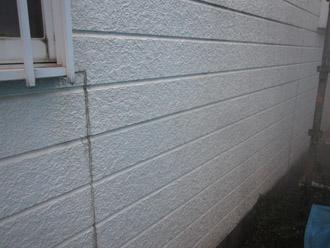 千葉市稲毛区 棟板金交換 屋根塗装 外壁塗装 外壁の高圧洗浄後