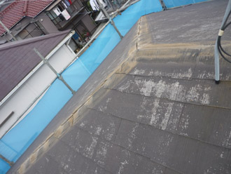 千葉市稲毛区 棟板金交換 屋根塗装 外壁塗装 貫板の撤去