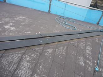 千葉市稲毛区 棟板金交換 屋根塗装 外壁塗装 樹脂製の貫板の設置