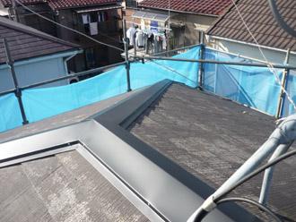 千葉市稲毛区 棟板金交換 屋根塗装 外壁塗装 新しい棟板金の設置