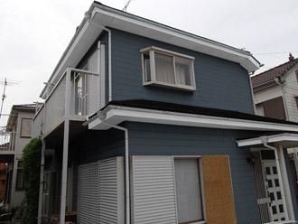千葉市稲毛区 棟板金交換 屋根塗装 外壁塗装 カラーシミュレーション