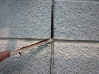 千葉市稲毛区 棟板金交換 屋根塗装 外壁塗装 目地の補修 古いコーキングの撤去