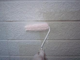 千葉市稲毛区 棟板金交換 屋根塗装 外壁塗装 下塗り