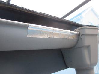 千葉市稲毛区 棟板金交換 屋根塗装 外壁塗装 細部の塗装 雨樋