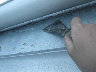 千葉市稲毛区 棟板金交換 屋根塗装 外壁塗装 細部の塗装 破風板