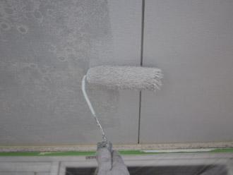 千葉市稲毛区 棟板金交換 屋根塗装 外壁塗装 細部の塗装 軒天