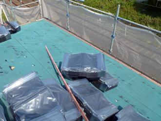 千葉市花見川区 屋根葺き替え 野地板新設 防水紙交換 ROOGA雅