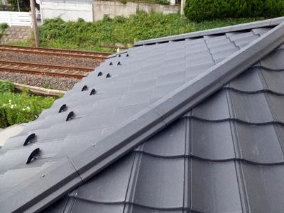 軽くて強い屋根 ROOGA雅 完成