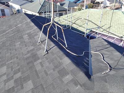 千葉県千葉市花見川区 屋根葺き替え 完了