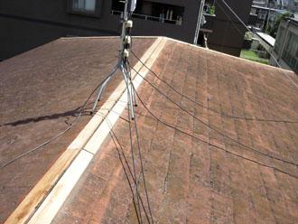 千葉県 千葉市若葉区 板金交換工事 貫板の設置