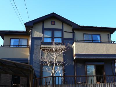 千葉県印旛郡酒々井町 屋根塗装 外壁塗装 工事完了後 お住まい全体 家