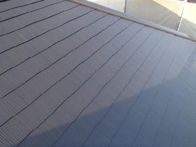 千葉県印旛郡酒々井町 屋根塗装 外壁塗装 工事完了後 屋根
