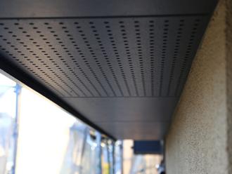 千葉県印旛郡酒々井町 屋根塗装 外壁塗装 点検の様子 軒天 塗装 完了後