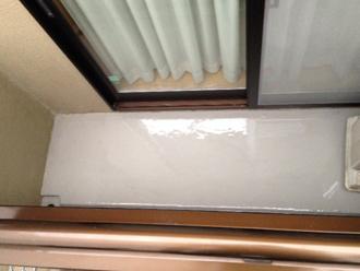 千葉県印旛郡酒々井町 屋根塗装 外壁塗装 点検の様子 バルコニー ウレタン 防水 乾燥
