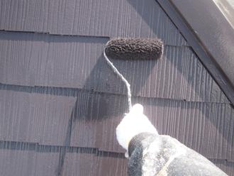 千葉県印旛郡酒々井町 屋根塗装 外壁塗装 点検の様子 外壁 ざらざら