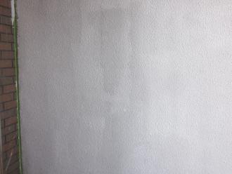 千葉県印旛郡酒々井町 屋根塗装 外壁塗装 塗装の様子 外壁 下塗り後