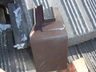 君津市 棟瓦補修 金属板