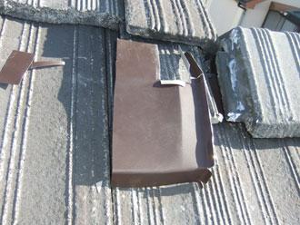 君津市 棟瓦補修 金属板加工
