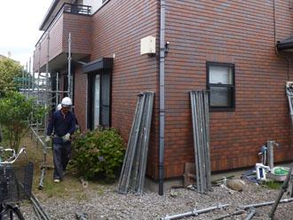 千葉県 君津市 屋根塗装 外壁塗装 点検 表面の塗膜の剥がれ