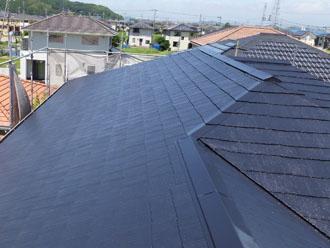 千葉県 君津市 屋根塗装 外壁塗装 屋根の輝き