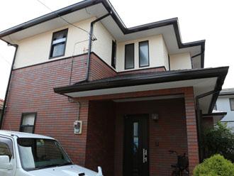 千葉県 君津市 屋根塗装 外壁塗装 雨樋交換 足場を撤去して工事の完了