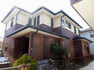 千葉県 君津市 屋根塗装 外壁塗装 カラーシミュレーション クリーム色バージョン