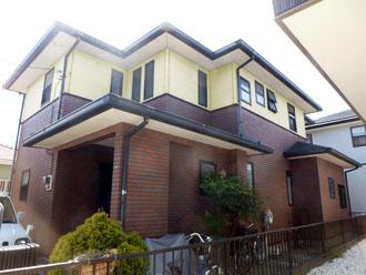 千葉県 君津市 屋根塗装 外壁塗装 カラーシミュレーション 薄めの黄色系バージョン