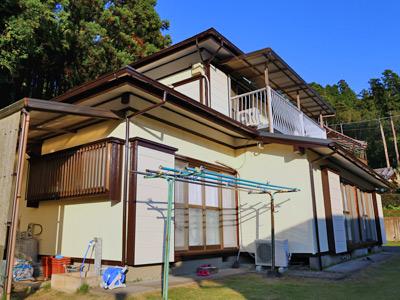千葉県君津市 棟板金交換 外壁塗装工事完了
