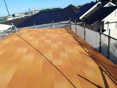 千葉県 大網白里市 屋根カバー工法 工事完了