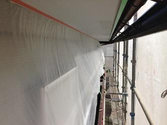 千葉県 大網白里市 屋根カバー工法 軒天塗装