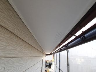 千葉県 大網白里市 屋根カバー工法 軒天塗装 完了