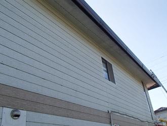 千葉県 大網白里市 屋根カバー工法 軒天の点検
