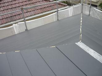 千葉県 市原市 屋根カバー 横暖ルーフきわみ設置