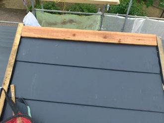 千葉県 市原市 屋根カバー 新規貫板設置