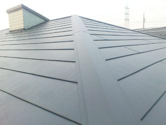 千葉県 市原市 屋根カバー 破風板塗装 雨樋塗装 完工