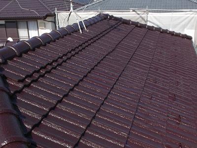 千葉県 市原市 屋根塗装 竣工