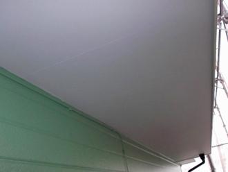千葉県 市原市 部分塗装 軒天の塗装 完了