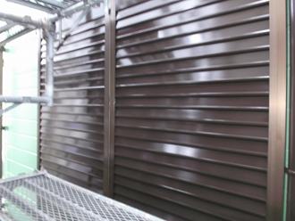 千葉県 市原市 部分塗装 雨戸の塗装 完了