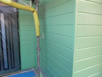 千葉県 市原市 外壁塗装 中塗り完了