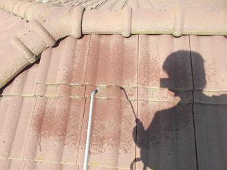 千葉県 市原市 屋根のバイオ洗浄