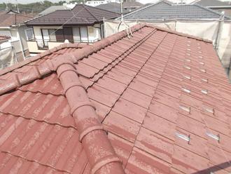 千葉県 市原市 屋根の高圧洗浄 洗浄後