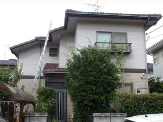 千葉県 市原市 外壁点検 正面からのショット