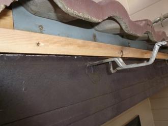 千葉県 市原市 玄関庇の補修