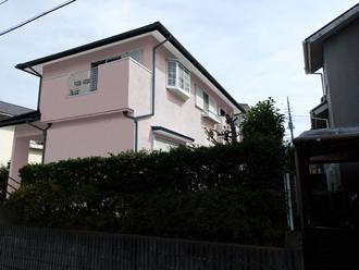 千葉県市原市 カラーシミュレーション ブルーとグレイッシュブルーのツートン