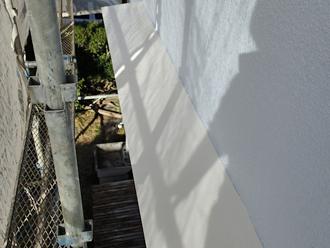 千葉県市原市 外壁塗装 庇の塗装