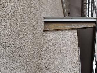 千葉県市原市 外壁点検 色褪せと木部の塗膜剥がれ